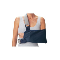 "ProCare 79-84167 Shoulder Immobilizer with Foam Straps, Large, 9"" Envelope Size Depth, 18"" Length 1 ea  [888912032728]"