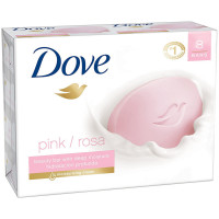 Dove Beauty Bars With Deep Moisture, Pink, 4 oz each bar, 8 ea [011111611788]