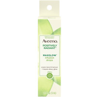 AVEENO Positively Radiant MaxGlow Infusion Drops with Moisture Rich Soy & Kiwi Complex, Moisturizing Facial Serum 0.17 oz [381371180202]