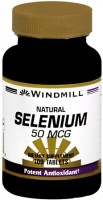 Windmill Selenium 50 mcg Tablets Natural 100 Tablets [035046003807]