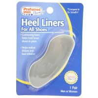 Preferred Plus Pharmacy Heel Liners, For All Shoes 1 pair [033116207001]