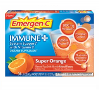 Emergen-C Immune+ Dietary Supplement Super Orange, 30 ea [885898000420]