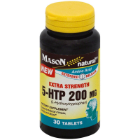 Mason Natural Amino Acid Extra Strength 5-HTP 200mg Extended Release Tablets 30 ea [311845170880]