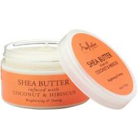 Shea Moisture Shea Butter infused with Coconut & Hibiscus 4 oz [764302290032]