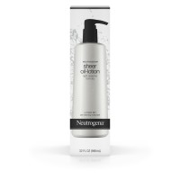 Neutrogena Moisturizing Sheer Body Oil-Lotion, Lightweight & Fast-Absorbing Sesame Oil Formula 32 oz [070501017609]