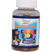 Nzuri Little Bitties Children Hair Vitamin Gummy Bears 90 ea [092617928099]