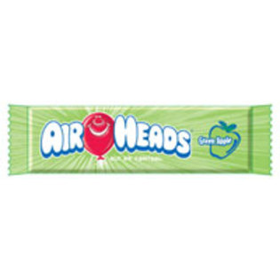 Airheads Green Apple Candies 36 ct  [073390002077]