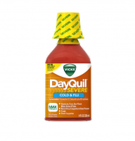 Vicks DayQuil Severe Cold & Flu Liquid, 8 oz [323900038127]