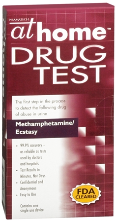 At Home Drug Test Methamphetamine/Ecstasy 1 Each [674033090682]