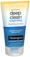 Neutrogena Deep Clean Invigorating Foaming Scrub 4.20 oz [070501050217]