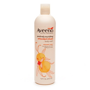 AVEENO Active Naturals Positively Nourishing Antioxidant Infused Body Wash White Peach + Ginger 16 oz [381371018796]