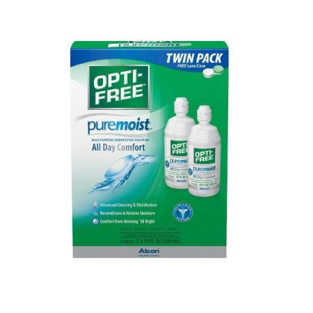 OPTI-FREE PureMoist Multi-Purpose Contact Lens Solution  20 oz [300650361057]
