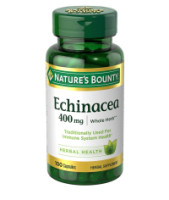 Nature's Bounty Echinacea 400 mg Capsules 100 ea [074312056338]