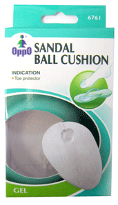 Oppo Sandal Ball Cushion [6761] 1 Pair [4711769145937]