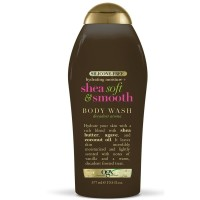 OGX Shea Soft & Smooth Body Wash 19.5 oz [022796924254]