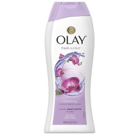 OLAY Fresh Outlast Soothing Orchid & Black Currant Body Wash, 22 oz [037000974666]