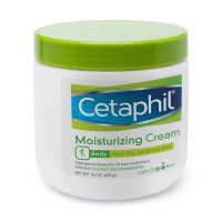 Cetaphil Moisturizing Cream for Dry/Sensitive Skin, Fragrance Free 16 oz [302993917168]