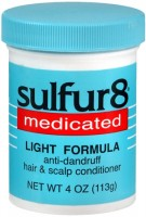 Sulfur8 Medicated Anti-Dandruff Hair & Scalp Conditioner Light Formula 4 oz [075610436105]