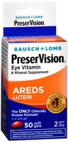 Bausch & Lomb PreserVision Lutein Soft Gels 50 Soft Gels [324208632109]