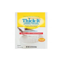 Food Thickener ThickIt 64 Gram Individual Packet Unflavored Ready to Mix Honey Consistency [072058611187]
