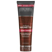 John Frieda Brilliant Brunette Colour Deepening Conditioner, Visibly Deeper 8.30 oz [717226224706]