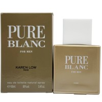 Pure Blanc By Karen Low Eau De Toilette Spray For Men 3.4 oz [3700134404497]