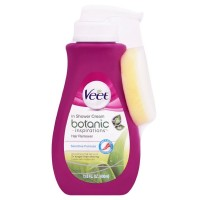 Veet In Shower Hair Removal Cream, Botanic Inspirations, Legs & Body, 400 ml [062200908494]