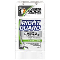 Right Guard Xtreme Antiperspirant & Deodorant Invisible Solid, Fresh 2.6 oz [017000111117]
