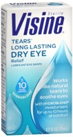Visine Tears Long Lasting Dry Eye Relief Lubricant Eye Drops 0.50 oz [342002207057]