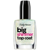 Sally Hansen Big Shimmer Top Coat, Twinkle Snows 0.40 oz [074170421590]