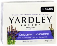 Yardley London Moisturizing Bars English Lavender With Essential Oils 8.50 oz [041840800290]