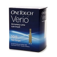 OneTouch Verio 100 Test Strips 100 Each [353885007757]
