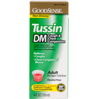 Good Sense Tussin DM Cough & Chest Congestion Syrup 4 oz [301130359267]