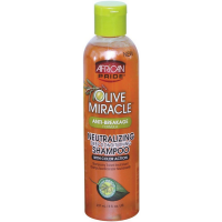 African Pride Olive Miracle Neutralizing Deep Conditioning Shampoo 8 oz  [802535444089]