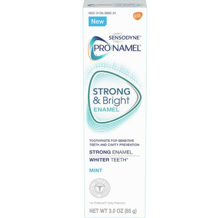 Sensodyne ProNamel Strong & Bright Enamel Toothpaste, Mint 3 oz [310158830689]