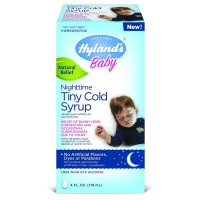 Hyland's Baby Nighttime Tiny Cold Syrup, Natural Relief 4 oz [354973318014]