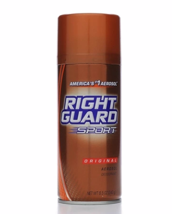Right Guard Sport Deodorant Aerosol Original 8 5 Oz