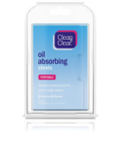 CLEAN & CLEAR Oil Absorbing Sheets 50 Each [381370035664]
