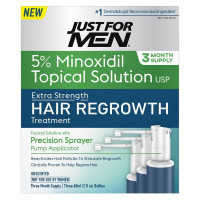 JUST FOR MEN Hair Regrowth Treatment, 6 oz [011509045119]
