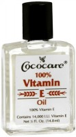 Cococare 100% Vitamin E Oil, 0.50 oz [075707041007]