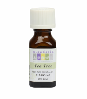 Aura Cacia Essential Tea Tree Oil 0.50 oz [051381911393]
