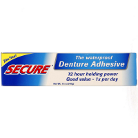 Secure Denture Waterproof Adhesive 1.40 oz [364031300103]