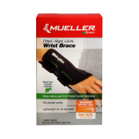 Mueller Green Fitted Wrist Brace, Right, LG/XL 1 ea [074676862736]