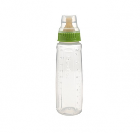 Gerber First Essentials Clearview Bottle in Assorted Colors with Latex Nipple, Colors May Vary 1 ea [885131761408]