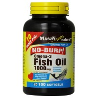 Mason Natural Omega-3-6-9 Fish Oil 100 mg Softgels 100 Soft Gels [311845149510]