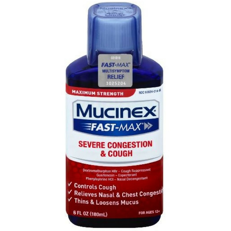 Mucinex Fast-Max Adult Severe Congestion And Cough Liquid