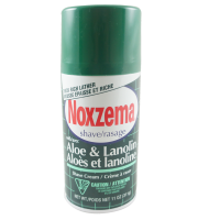 Noxzema Shave Cream Aloe and Lanolin 11 oz [675690496022]