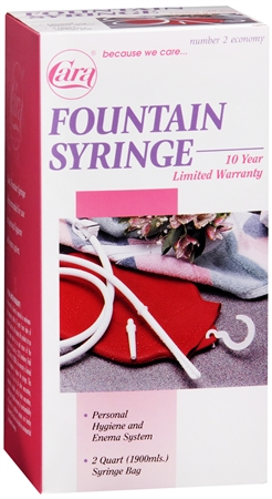 Cara Fountain Syringe Number 2 Economy 1 Each [038056000026]
