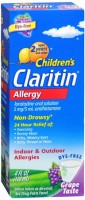 CLARITIN Children's Allergy Solution Grape Flavor 4 oz [041100804655]