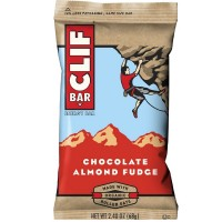 Clif Bar, 2.4 oz bars, Chocolate Almond Fudge 12 bars [722252101600]